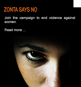 Zonta says NO to violence