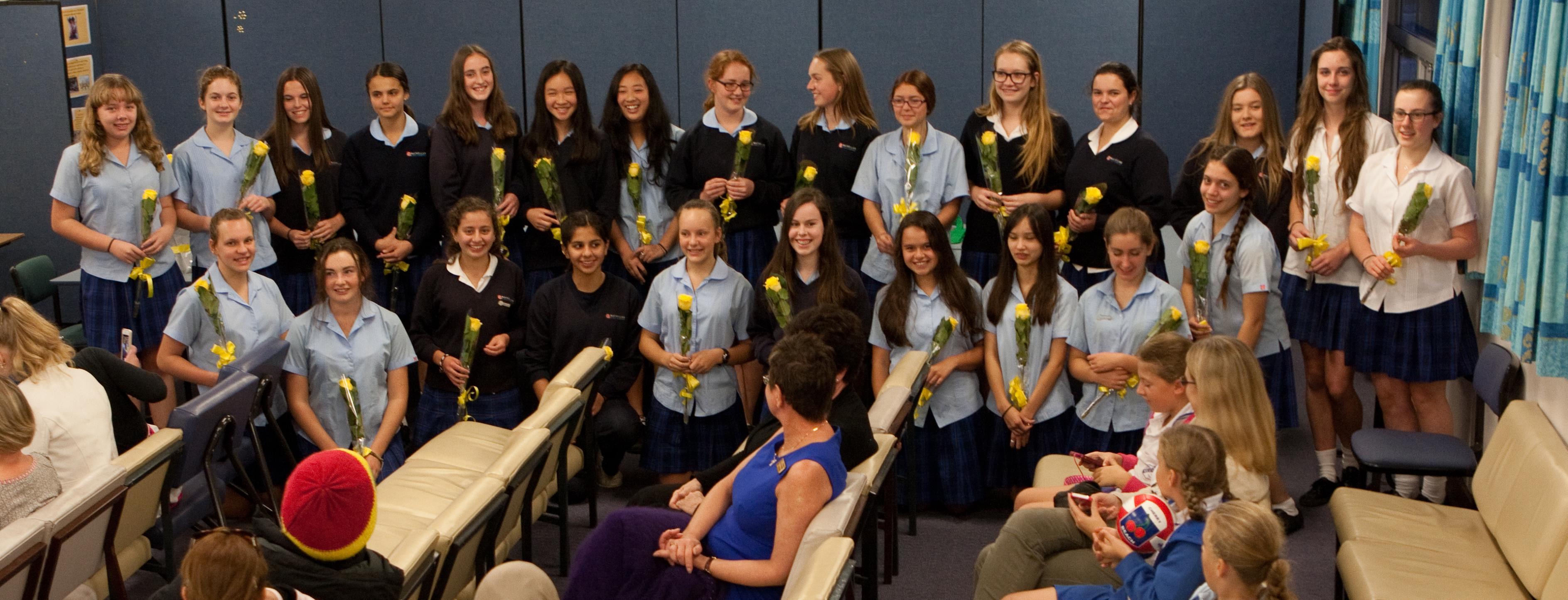 Mackellar charter ceremony